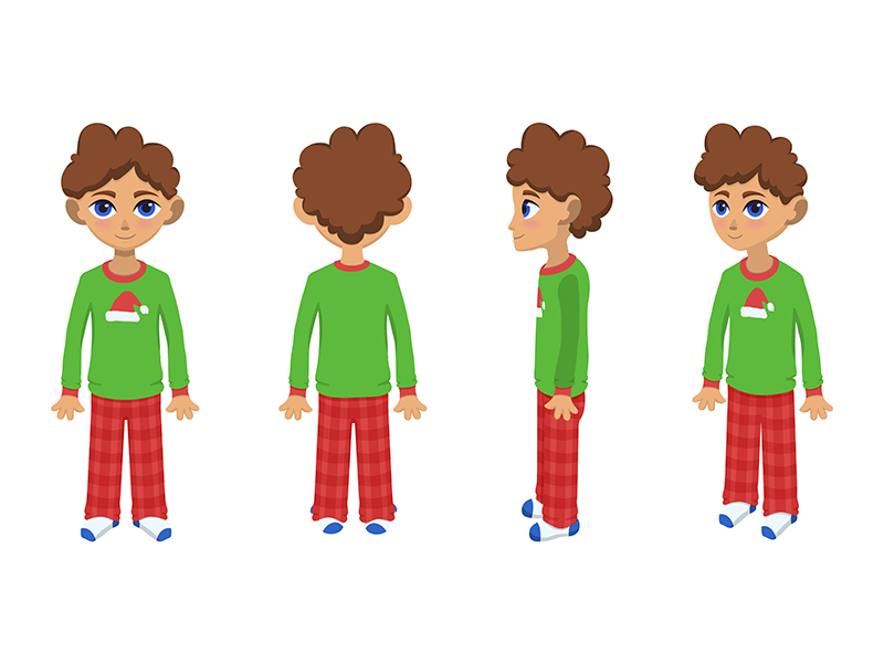 Character Turn Around by Nancy Liz on Dribbble.