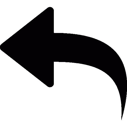 Left turn arrow.
