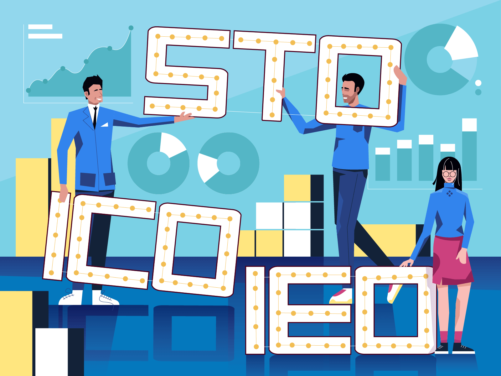 What are ICOs, STOs, and IEOs?.
