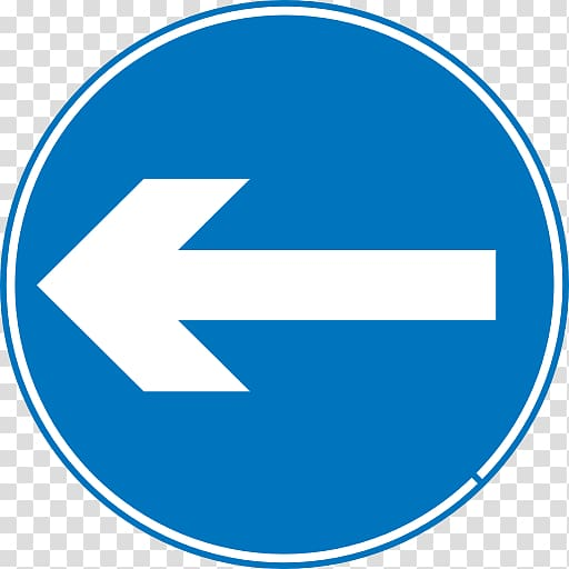 Left arrow sign, Left Turn Traffic Sign transparent.