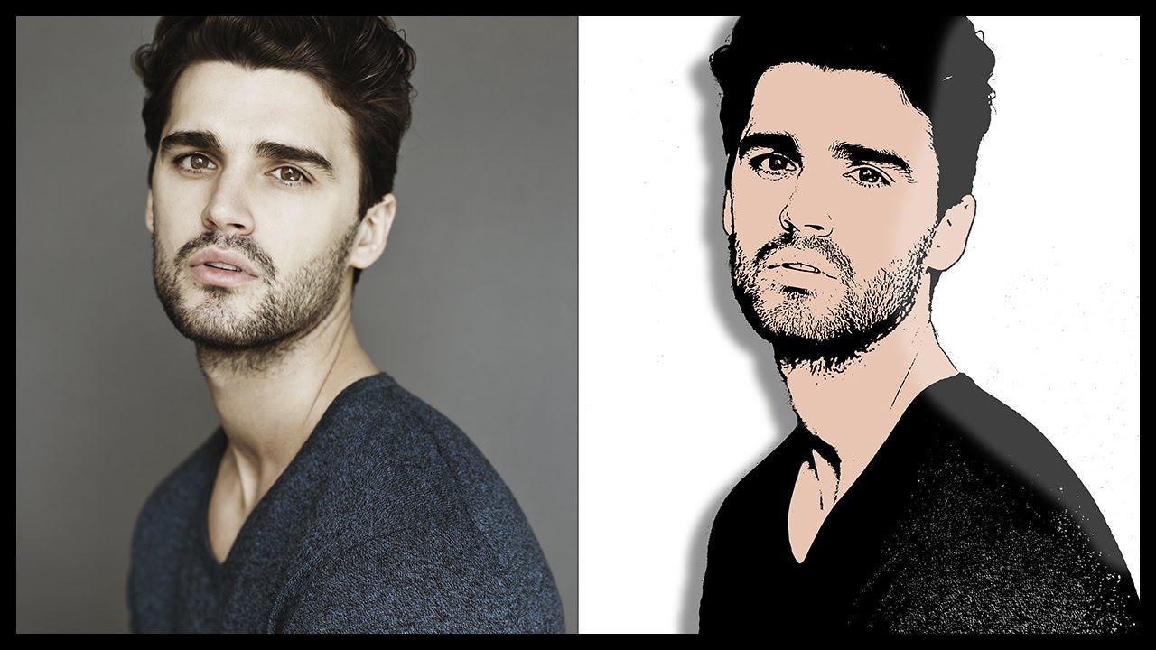 Photoshop CS6: Transform Portrait into Easy Cartoon.