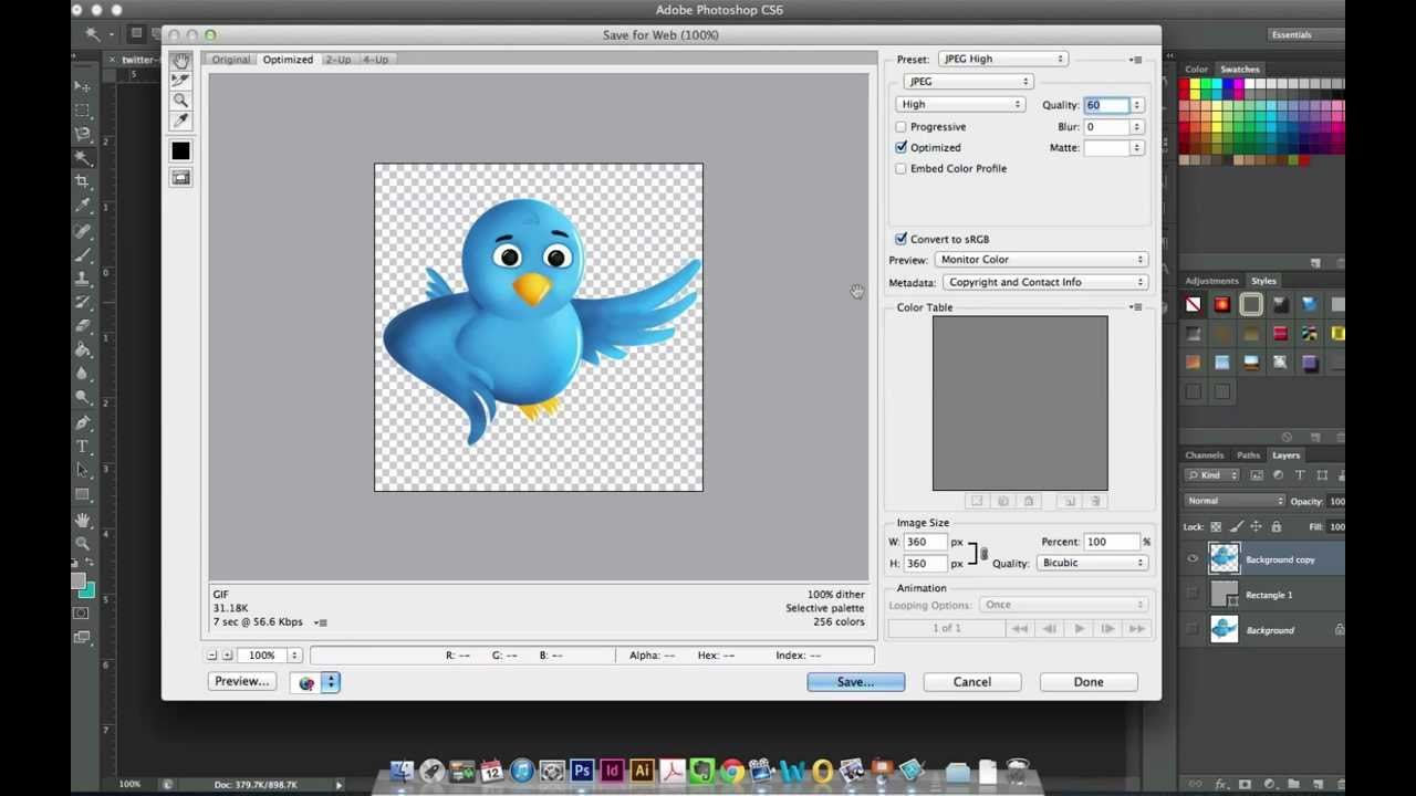 How to remove a white background or make it transparent in photoshop.