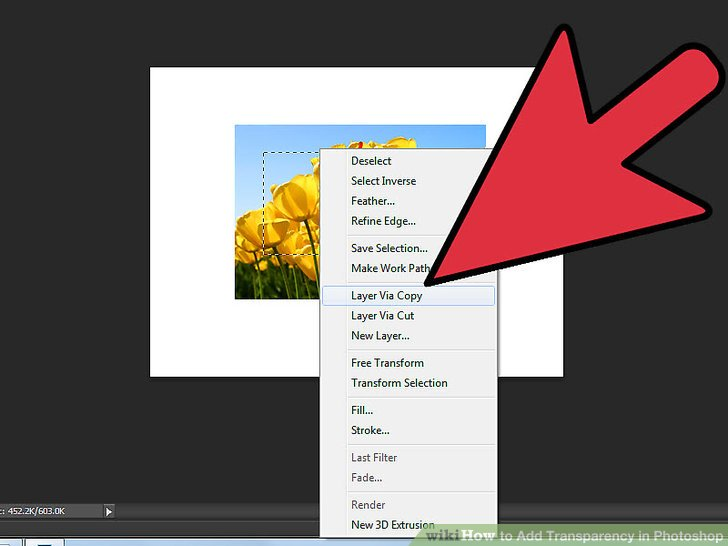 4 Easy Ways to Add Transparency in Photoshop.