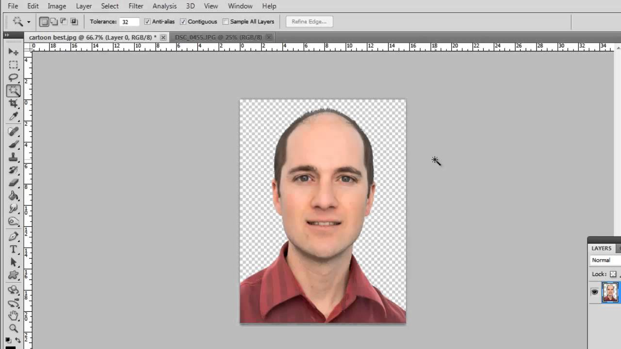 How to Make a Transparent PNG.