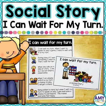 Social Story Waiting Your Turn.