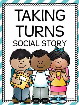 Taking Turns Social Story.