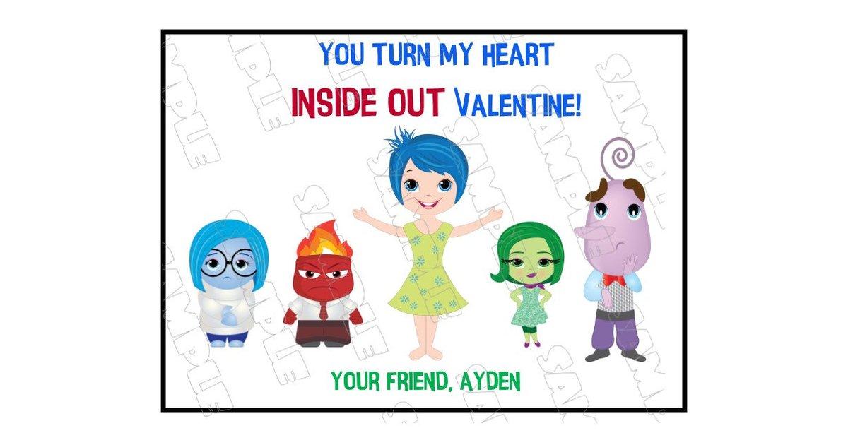 Disney Valentine's Day Card Ideas.