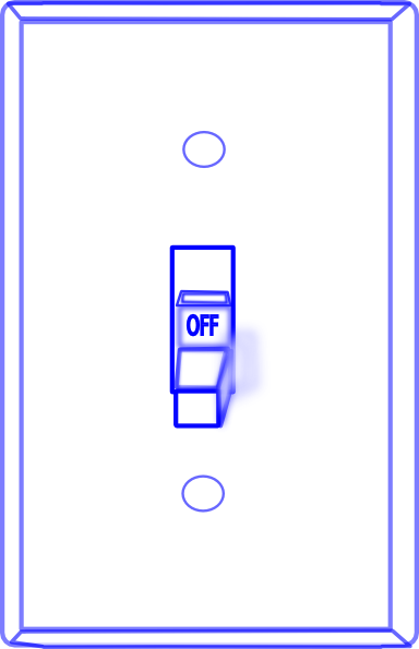 263 Light Switch free clipart.