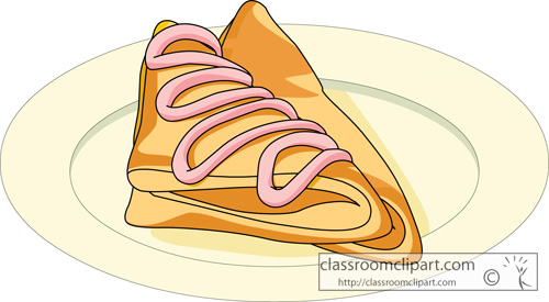 Apple turnover clipart.