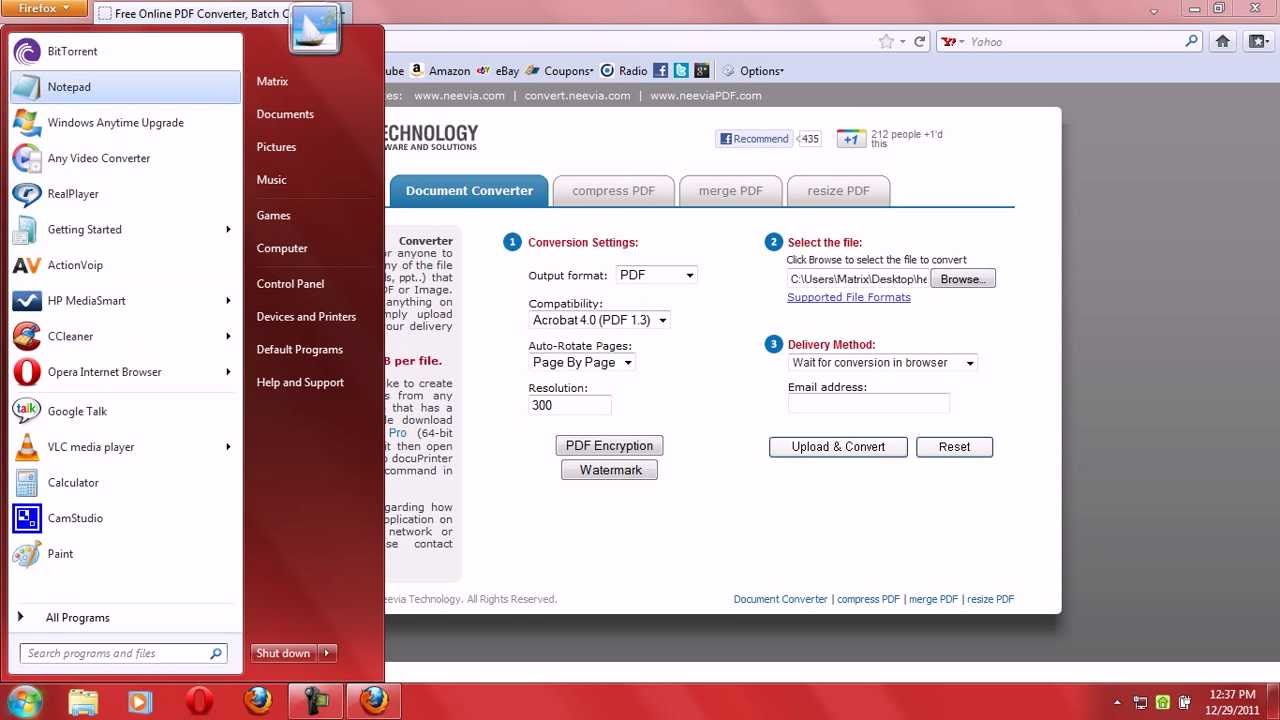 How to convert pdf files into png(image) online for free.