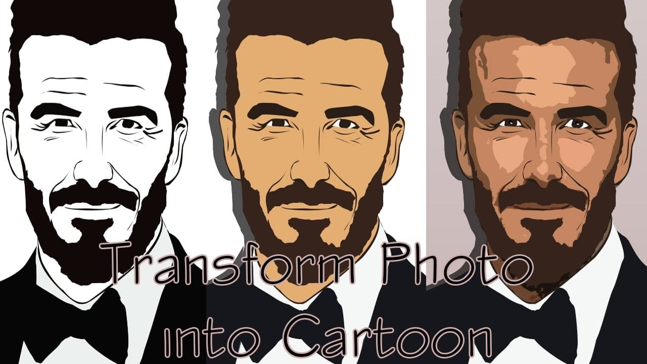 Easiest Way To Turn Any Photo Into Cartoon Without Photoshop.