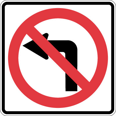 Left Turn Restrictions on Smith.