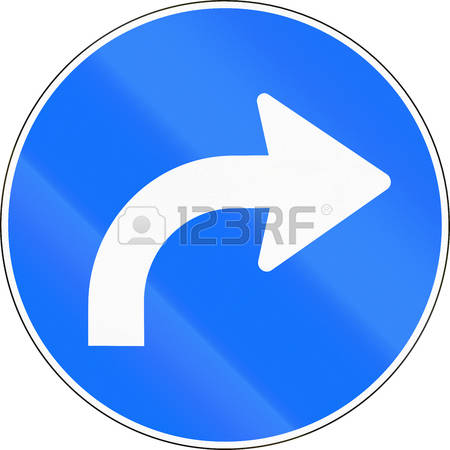 5,758 Turn To The Right Stock Vector Illustration And Royalty Free.
