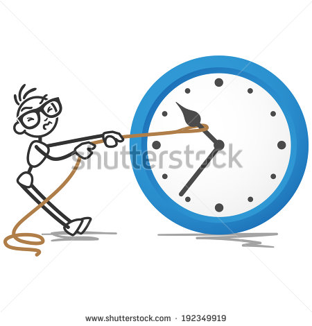Turn Back Time Stock Images, Royalty.