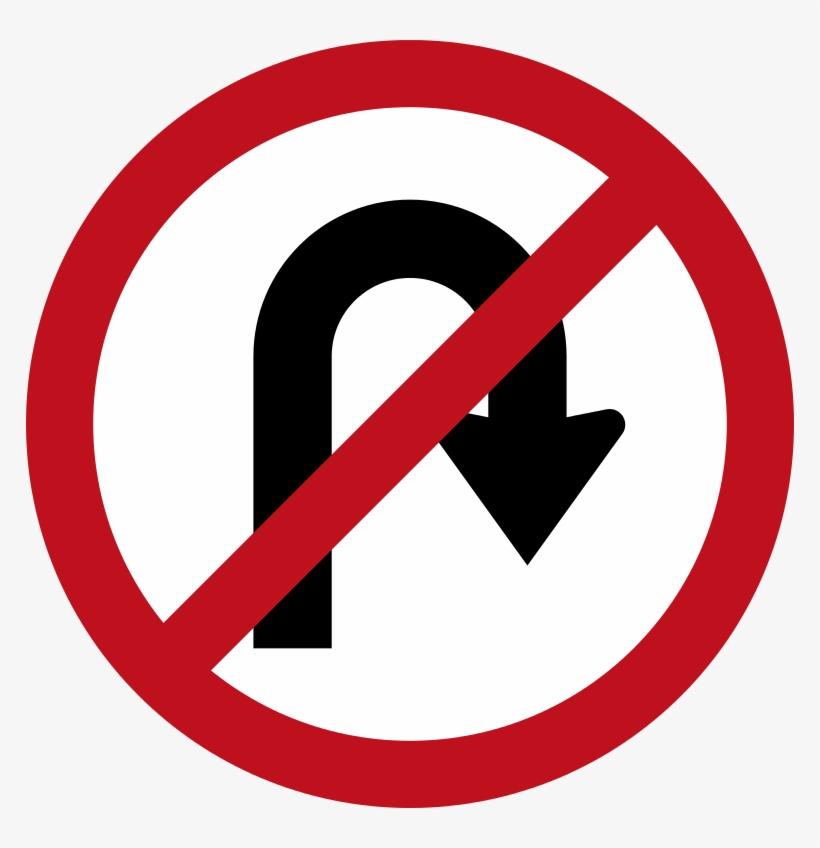 U Turn Sign Png Free Download.