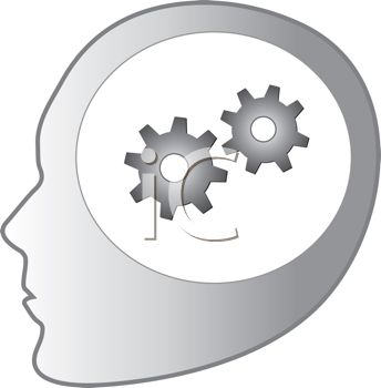 Turning head clipart.