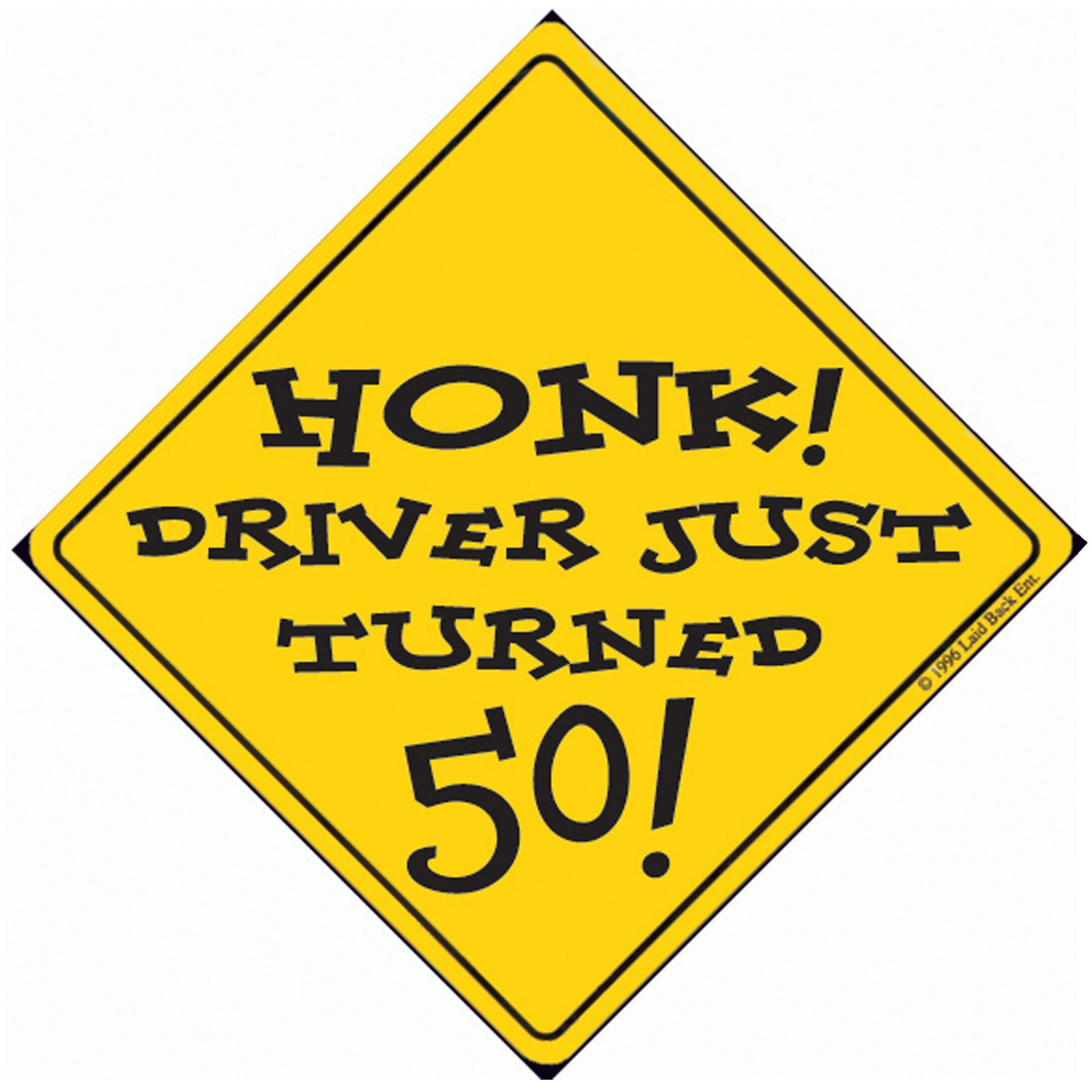 Turning 50 Clipart.