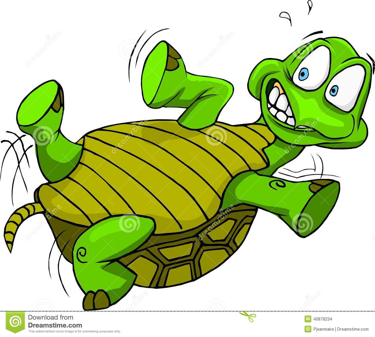 Gallery For > Turtle Turned Over Clipart.