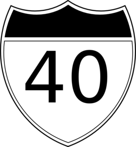 Turning 40 Clipart.