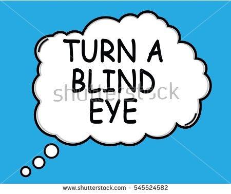 Turning A Blind Eye Stock Photos, Royalty.