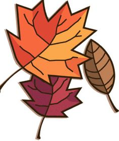 Clip Art Autumn Nature Borders.