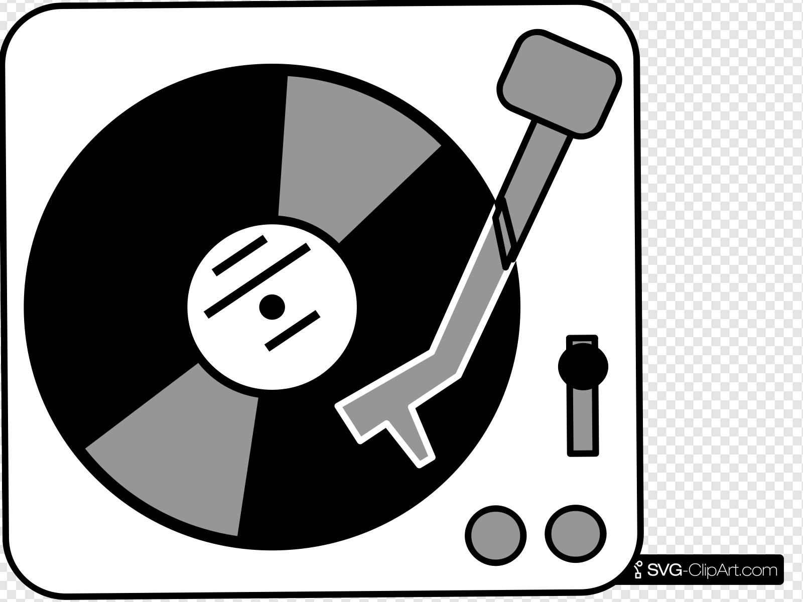 Turntable Clip art, Icon and SVG.