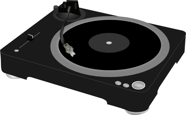 Dj Turntable Clip Art at Clker.com.