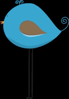 Turquoise Bird Clipart.