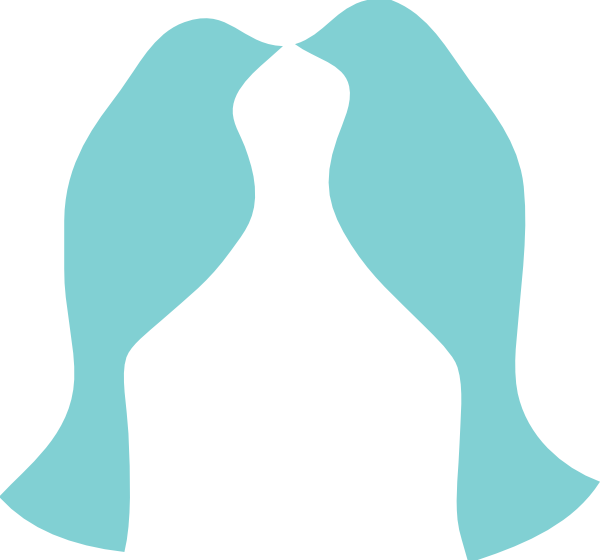 Mason Jar Blue Love Birds SVG Downloads.