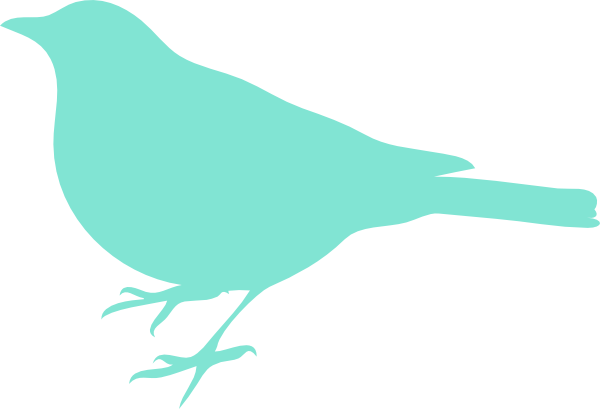 Gallery For > Turquoise Bird Clipart.