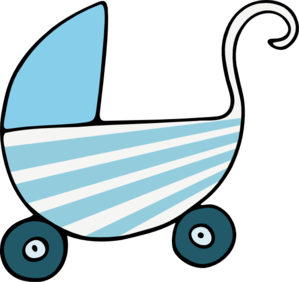 Blue Stroller Clip Art at Clker.com.