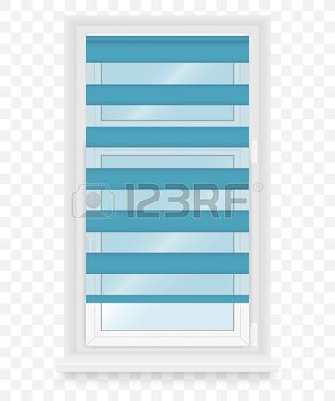 Turquoise blue panes clipart #4