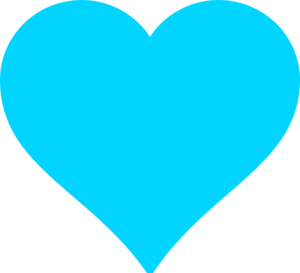 Turquoise Heart Clip Art at Clker.com.