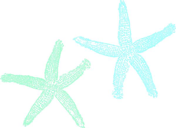 Starfish clip arts.