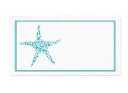 wedding clip art printable wedding turquoise aqua starfish, Aqua.