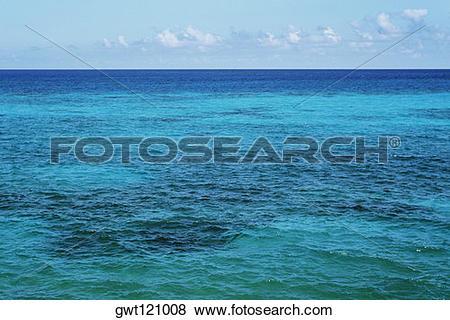 Pictures of Turquoise water in a vast ocean, Bermuda gwt121008.