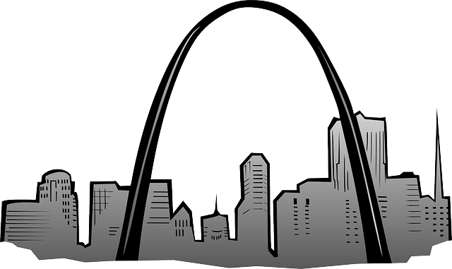 Free vector graphic: Gateway Arch, St Louis, Monument.
