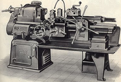 Turret Lathe Machine.