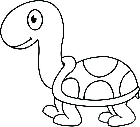 simple turtle drawing.