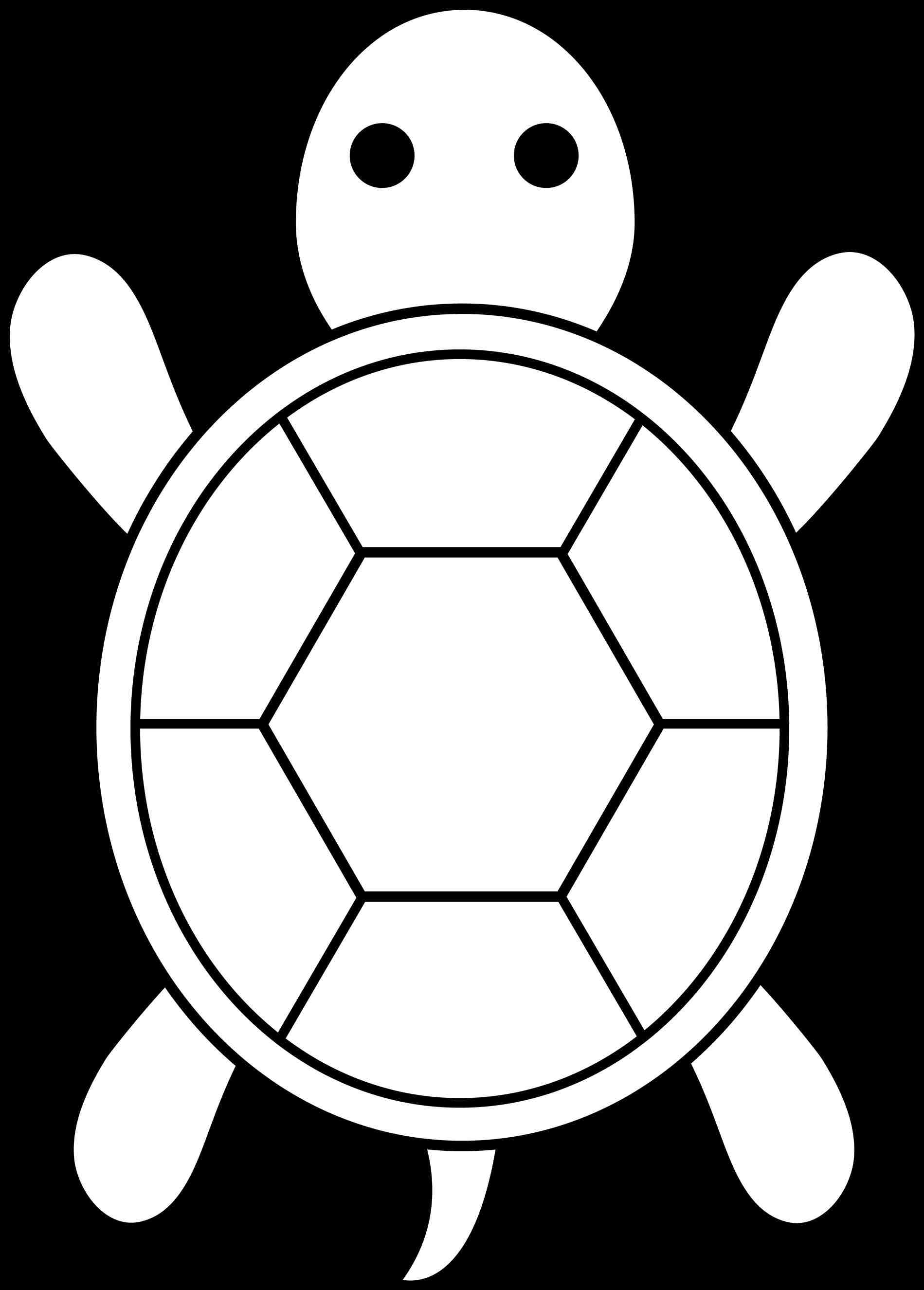 Easy Turtle Clipart.