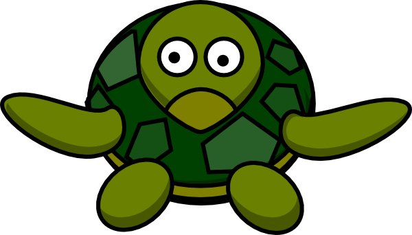 Cute Turtle Clip Art at Clker.com.