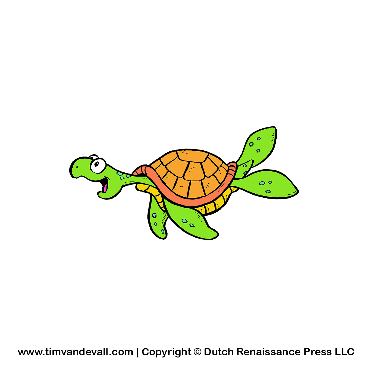 Turtle family reunion clip art 2.