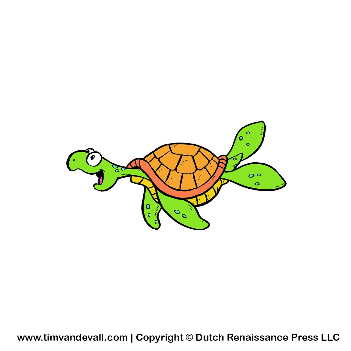 Turtle family reunion clip art 2.