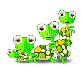 Turtle Family Clipart (26+).