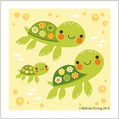 Watercolors, Artworks and Turtles on Pinterest.