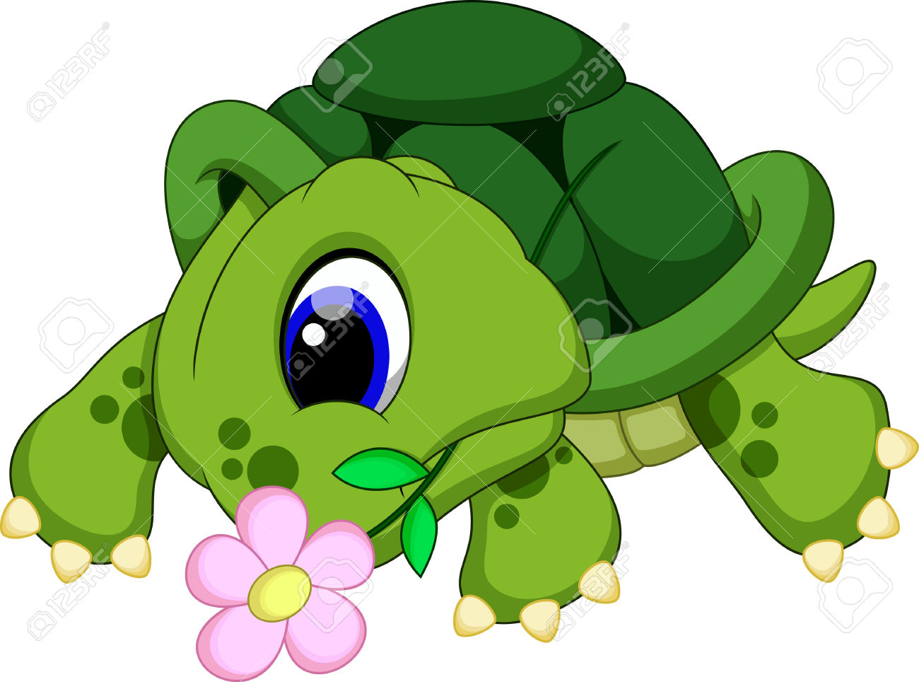 Turtle in flowers clipart 20 free Cliparts | Download ...
