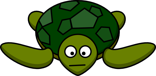 Turtle With Mouth Clip Art at Clker.com.