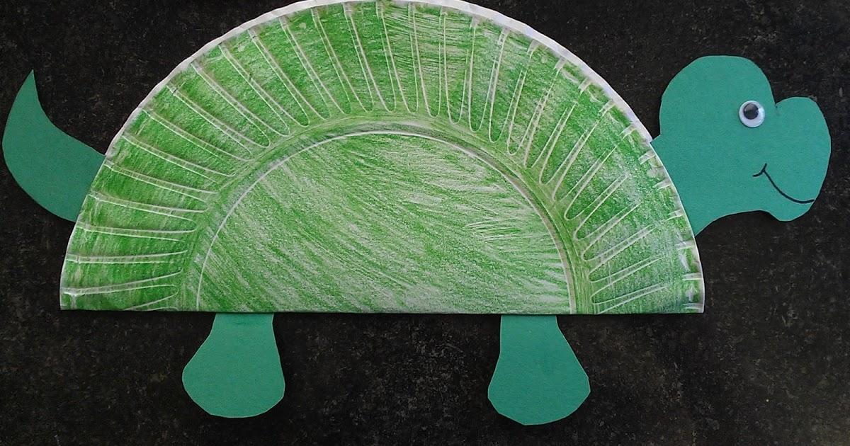 Child Care Basics Resource Blog: Easy Turtle Craft.