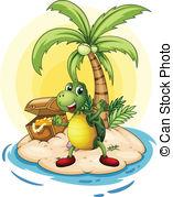 Turtle island Clipart Vector and Illustration. 131 Turtle island.