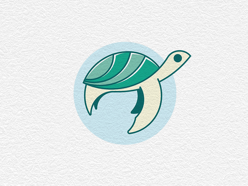 Turtle Logo by Negib Kesrouani on Dribbble.